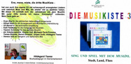 Cover CD 3 der MusiKiste