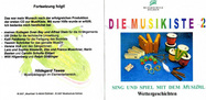 Cover CD 2 der MusiKiste
