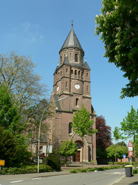 Foto: St.Georg-Kirche in Hiddingsel.